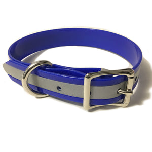 Blue Reflective Proof Collar - N.G. Collars