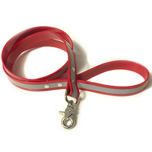 Red Reflective Proof Leash - N.G. Collars