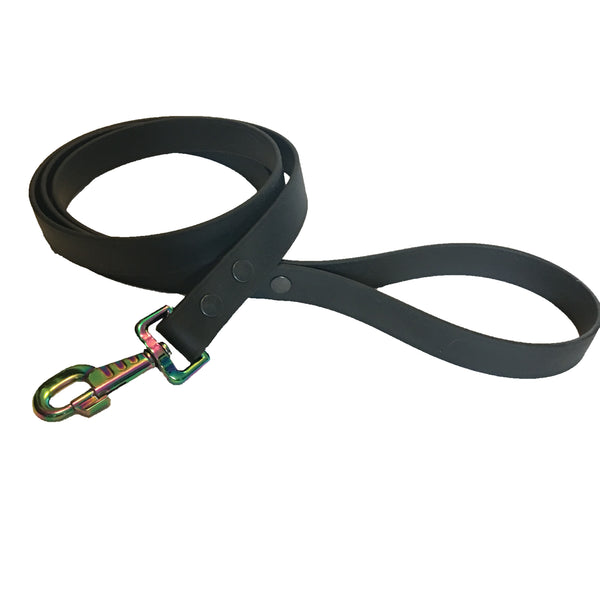 Black Proof Leash - N.G. Collars