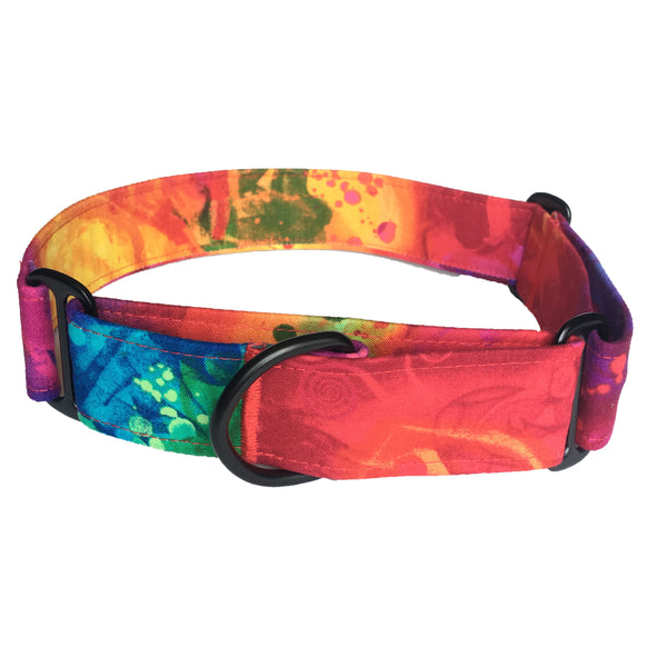 Psychedelic Martingale Collar - N.G. Collars