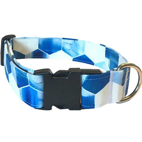 Blue Tide Buckle Collar - N.G. Collars
