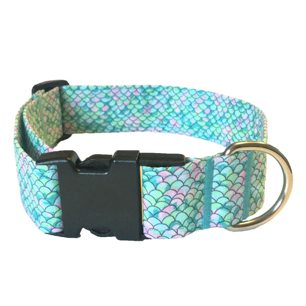 Mermaid Tail Buckle Collar - N.G. Collars