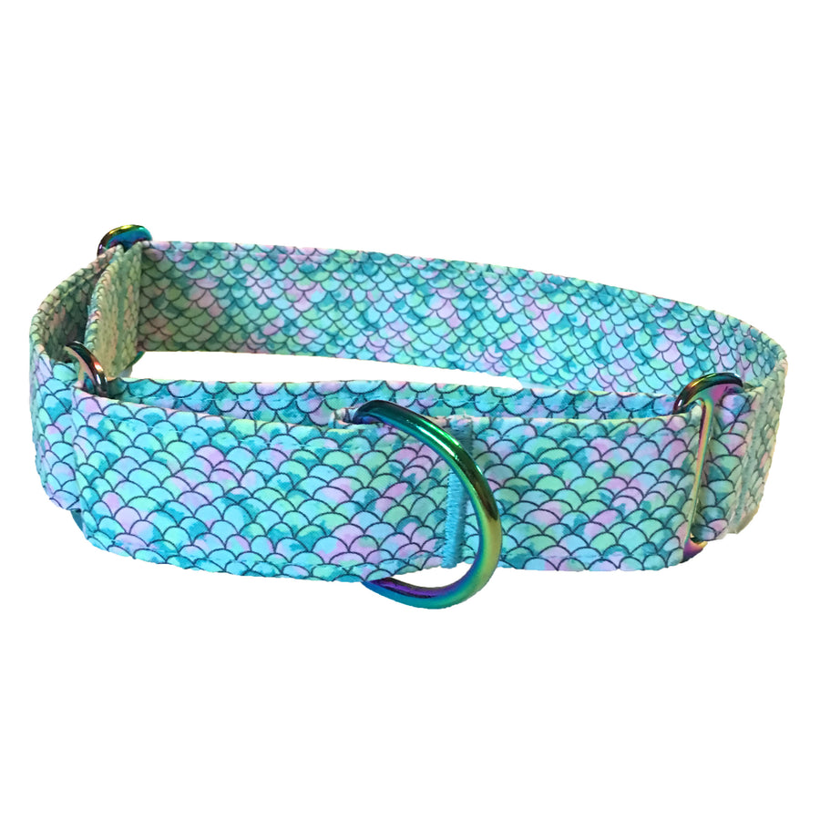 Mermaid Tail Martingale Collar - N.G. Collars