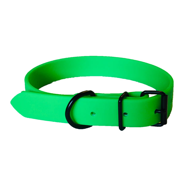Neon Green Proof Collar - N.G. Collars