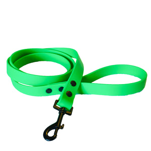 Neon Green Proof Leash - N.G. Collars