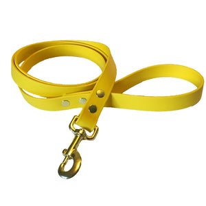 Yellow Proof Leash - N.G. Collars