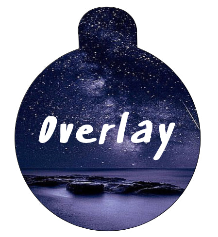 Milky Way Pet Tag
