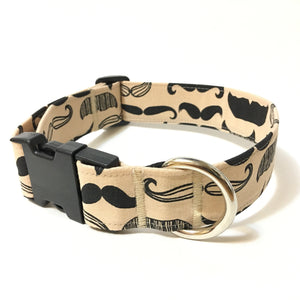 Movember Buckle Collar - N.G. Collars