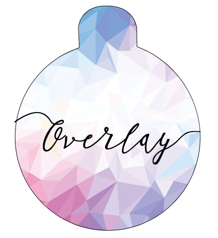 Pastel Geometric Pet Tag