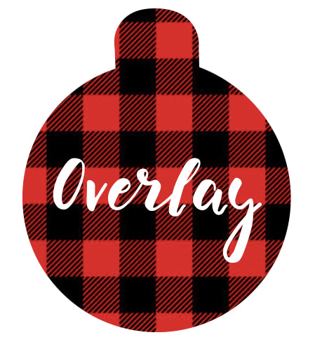 Red Plaid Pet Tag