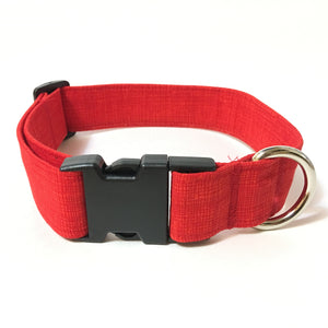 Firetruck Red Buckle Collar - N.G. Collars