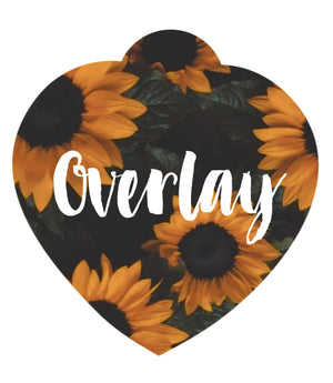 Sunflowers Pet Tag