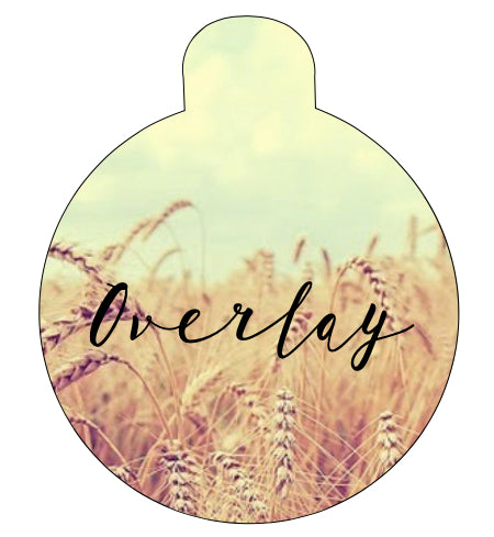 Wheat Field Pet Tag