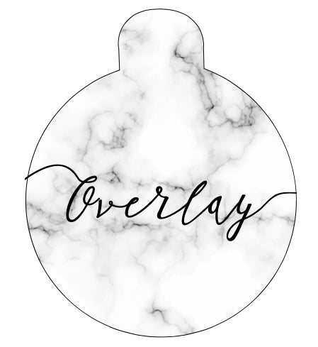 Marble Pet Tag