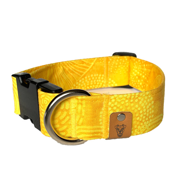 Zesty Lemon Buckle Collar - N.G. Collars