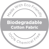 Dermovia biodegradable cotton fabric