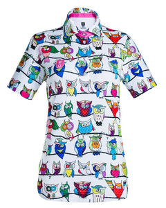 Colorful Golf Shirt for Women