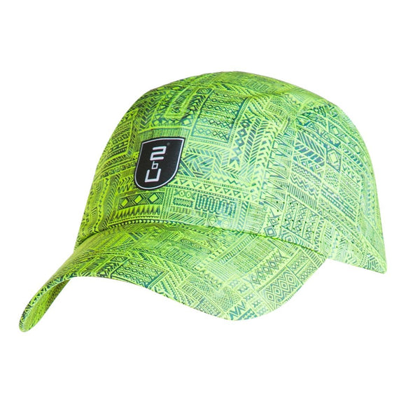 Colorful golf cap