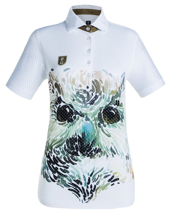 Owl golf shirt