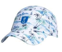 Cap - Light Blue Palms