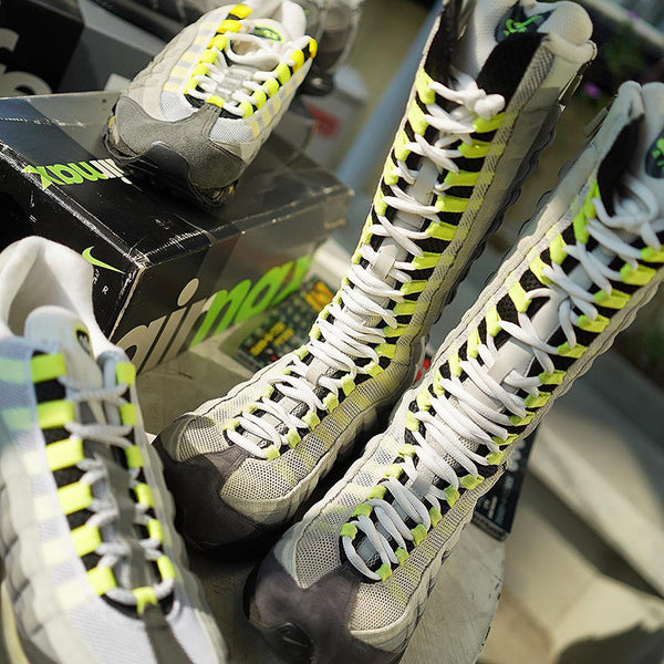 "great quality sold worldwide elegant shoes A Brief History Of The Nike Air Max 95 ""Neon"" – Sneaker ..."