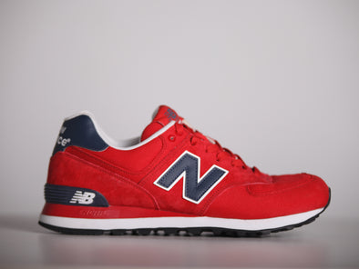 New Balance 574 Unreleased Sample Red/Blue/White