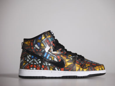 "CNCPTS x Nike SB Dunk High ""Stained Glass"""