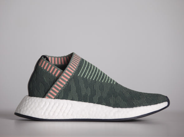 "Adidas Womans NMD City Sock 2 Primeknit "" Trace Green"""