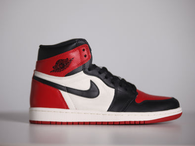 "Nike Air Jordan 1 OG ""Bred Toe"""