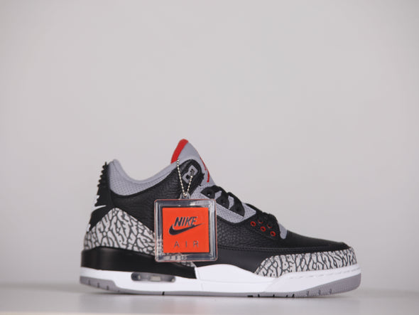 "Nike Air Jordan 3 ""Black Cement"" OG 2018"