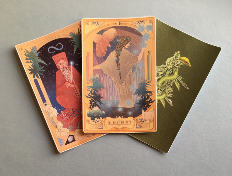 Oracle of the Green Rose - An Inspired Oracle Card Deck for the Ages