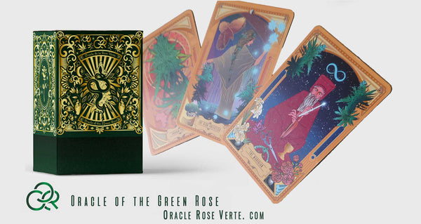 the first of its kind oracle card deck the oracle of the green rose white buffalo spirit the first of its kind oracle card deck