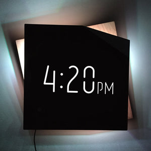The Time is 4:20 Wall Art