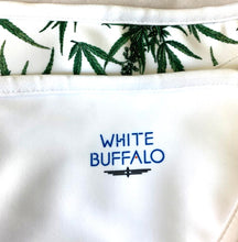 Botanical Bikini by White Buffalo Spirit Logo and Pattern Close Up