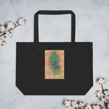 Durban Organic Cotton Tote Bag in Black