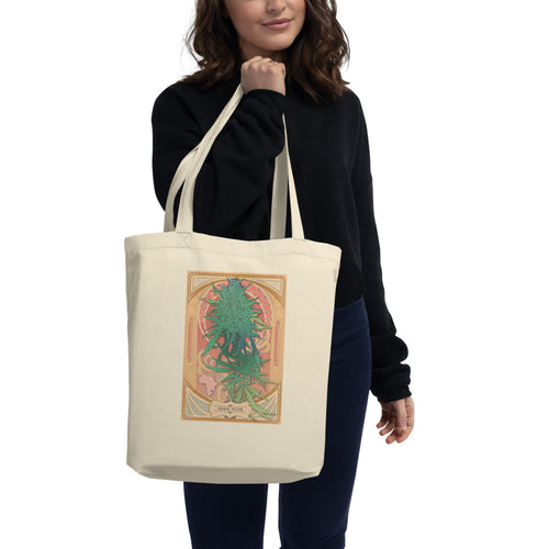 Durban Poison Organic Canvas Tote in Natural Color