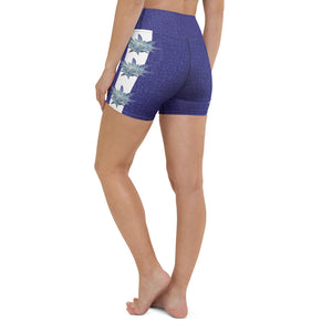 Blue Dream Athleisure Shorts