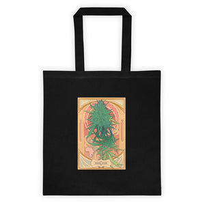 Durban Poison Tote Bag in Black