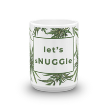 let's sNUGGLe Mug with Beautiful Botanical Pattern