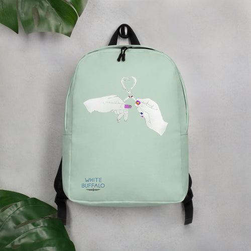 Limited Edition Shake & Baked Backpack in Mint