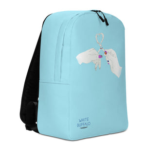 Limited Edition Shake & Baked Backpack in Light Blue