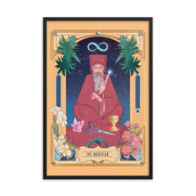 The Magician • Oracle of the Green Rose Framed Wall Art