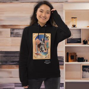 Eco Pullover Hoodie with Temperance Card - Unisex