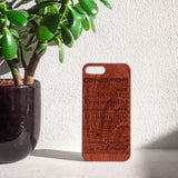 Essential Oil Phone Wooden Phone Case