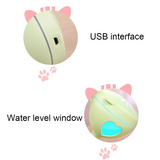 Fun Cat Ultrasonic Essential Oil Diffuser