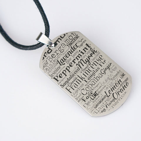 Essential Oil Pride Dog Tag