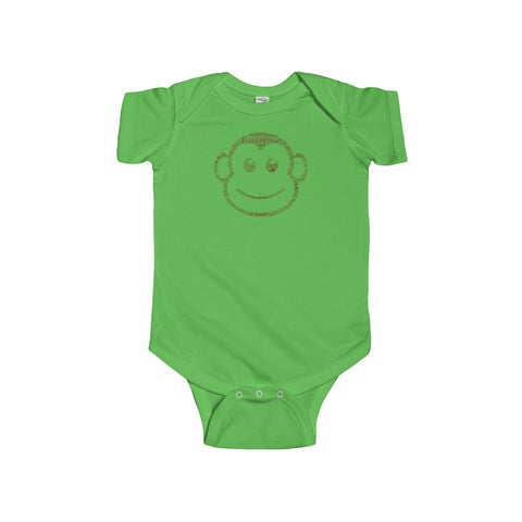 Essential Oil Monkey Infant Fine Jersey Bodysuit