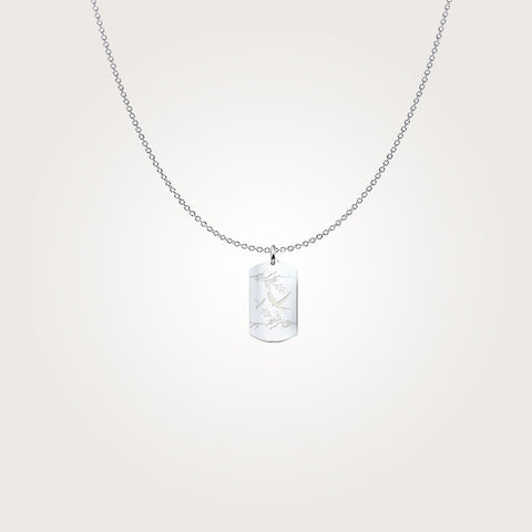 Freedom In The Skies - Sterling Silver Necklace