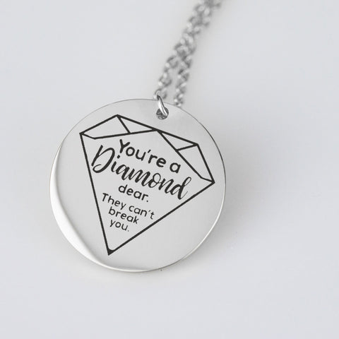 You're a Diamond, Dear Pendant