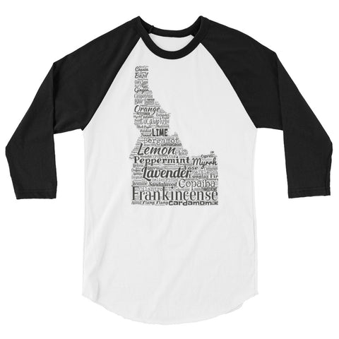 Idaho 3/4 sleeve raglan shirt
